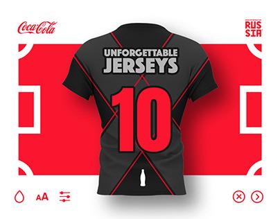 Coca-Cola's Unforgettable Jerseys