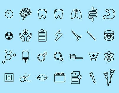 Grupos de iconos para descargar en Freepik