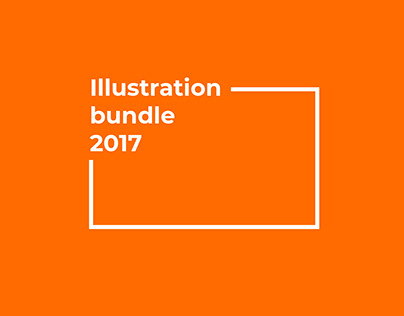 Illustration bundle 2017