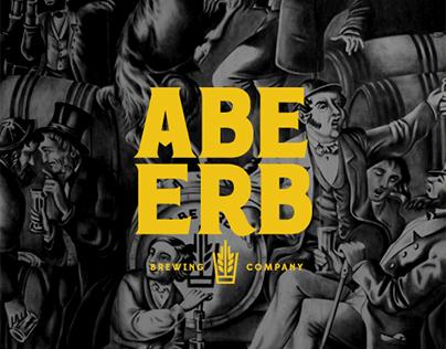 Abe Erb Brewpub - Charcoal Mural