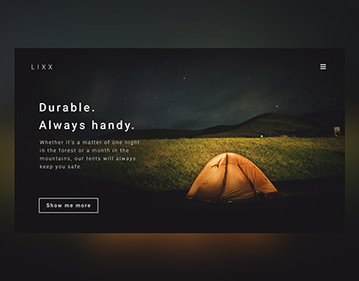 Web design - personal project