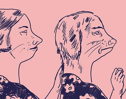 Illustrations for Popmoderna 2018