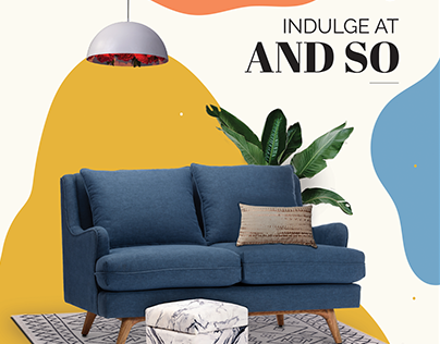 MAGAZINE AD for AndSo store and Josmo Studio