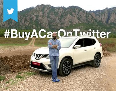 """Nissan - """"#BuyACarOnTwitter"""""""