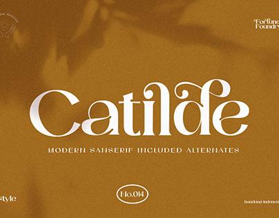 Catilde Modern Typeface