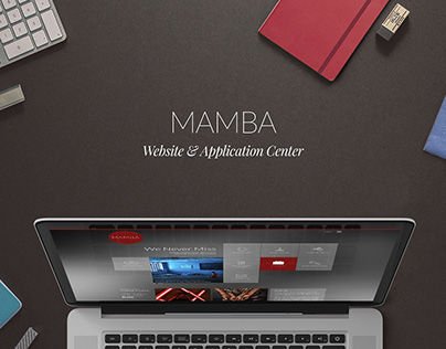 Mamba: Website & Application Center