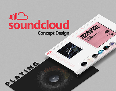 Soundcloud Concept Design
