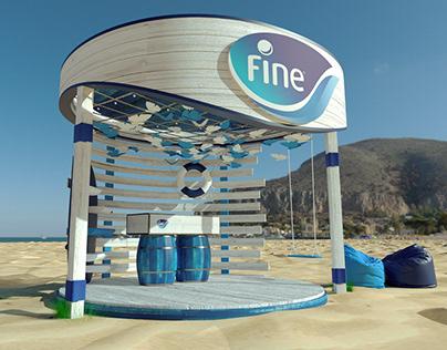 Fine Summer booth