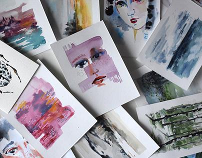 Watercolor studies I
