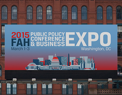 Federation of American Hospitals 2015 Expo Design