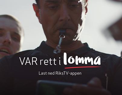 RiksTV lanserer VAR