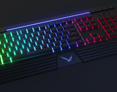 3d Modeling- Keyboard