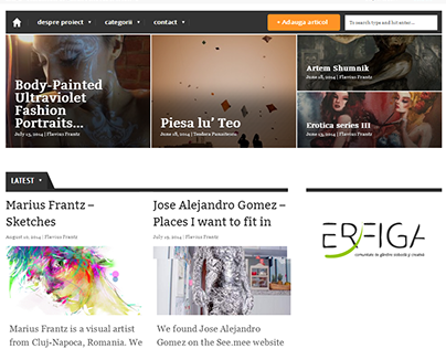 erfiga.com - homepage