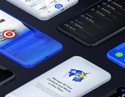 Meetz — Mobile App User Interface Implementation