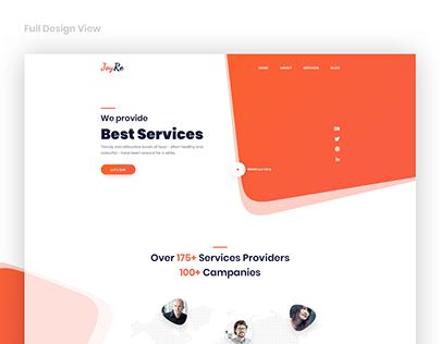 Digital Agency Landing Page