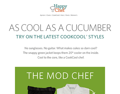 Happy chef email
