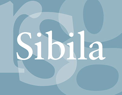 Font Sibila | Шрифт Sibila