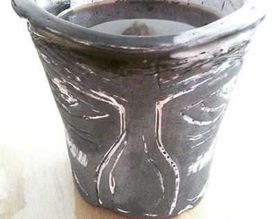 Piezas cerámica (tazas)