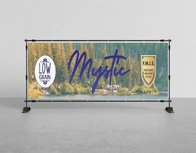 Mystic Pet Food  Banner Design (Tarpaulin)