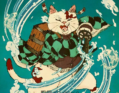 Samurai Cats, Panda and others 2020