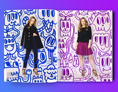 Random Fashion Collab with Carroll Herrara