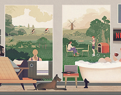 Illustration for Bethnal&Bec Luxury Rural Retreats