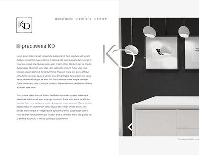 Pracownia KD - Interior Design - Website