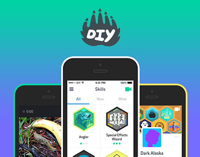 DIY iOS App - Creative Community for Kids
