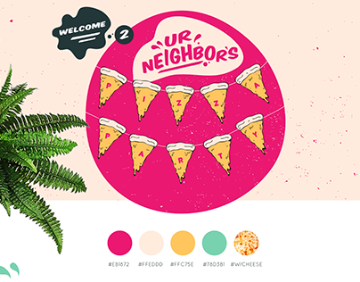 Ur Neighbor's Pizza Party