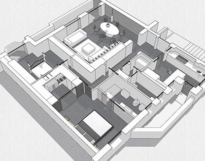 Concept apartament