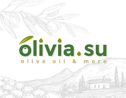 ArtFactor: Website for olive oil store and Logo