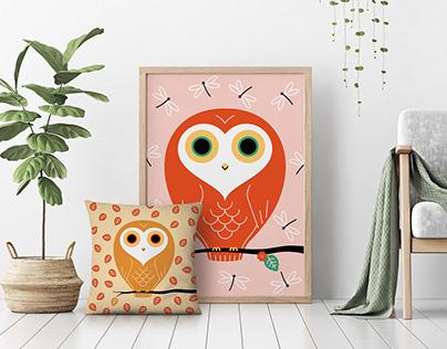 Seasonal Owls
