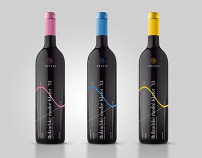 Bzenia Winery / Visual identity
