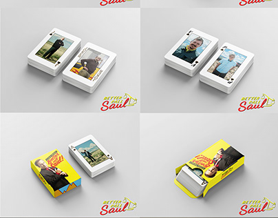 Better Call Saul - Playing Cards