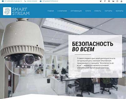Website development for a telecommunications company