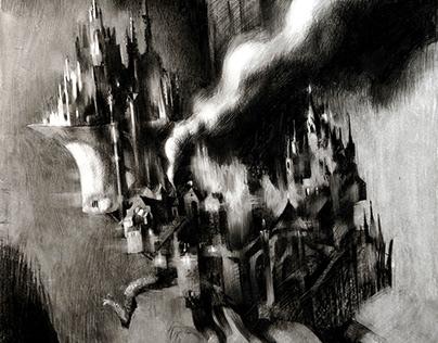 Howl's Moving Castle by Diana Wynn Jones.