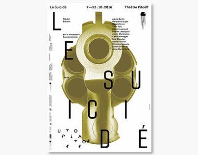 Théâtre Pitoëff — Le Suicidé