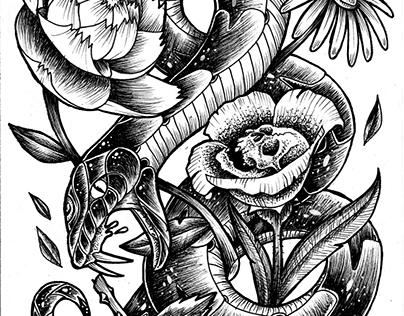 INK WORK // SSSSSnakes