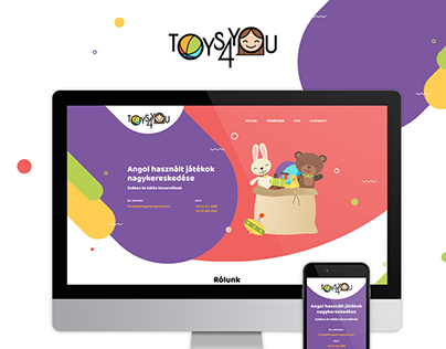 Toys4You responsive web design