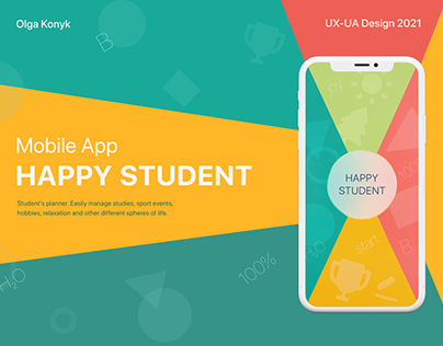 mobile app HAPPY STUDENT