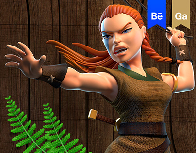 Celtic Tribes - Character Animations and Promo Poses