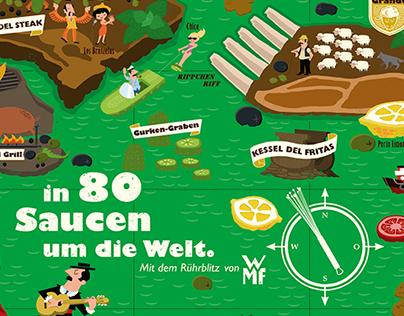 """WMF – Printidee """"Welt der Saucen"""""""
