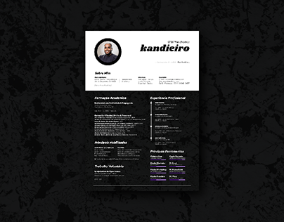 CV / Résumé || Kandieiro