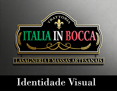 Visual Identity - Italia in Bocca Restaurant