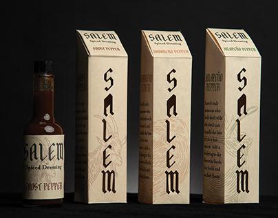 Salem Spiced Dressing Packaging & Branding