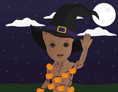 Halloween Groot