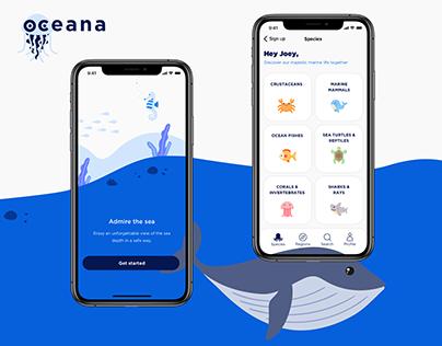 Oceana - Marine Life App