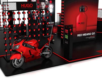 Mega podium display design