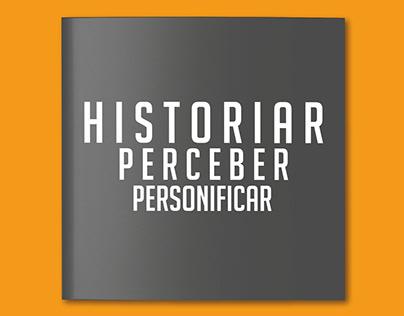Catálogo Cores // Historiar, perceber, personificar