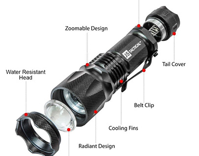 J5 Tactical Ultra Bright Flashlight Review